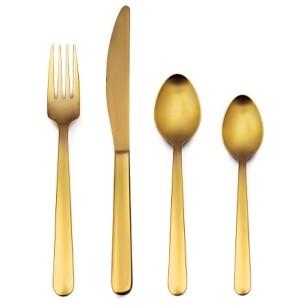 gold-flateware